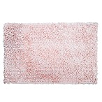 "Home Dynamix 24"" x 40"" Plush Oversized Bath Rug in Blush"
