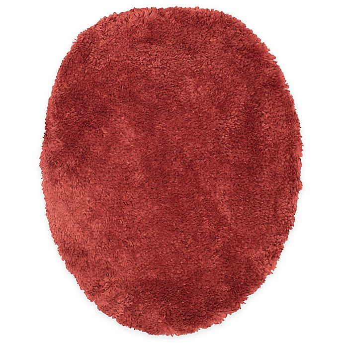 Alternate image 1 for Wamsutta® Ultra Soft Universal Toilet Lid Cover in Rusty Coral