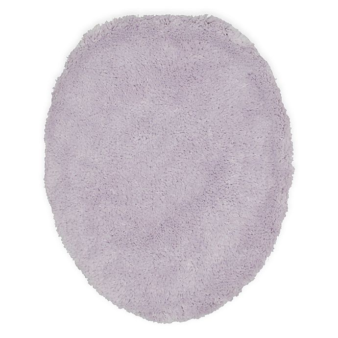 Alternate image 1 for Wamsutta® Ultra-Soft Elongated Toilet Lid Cover in Lilac
