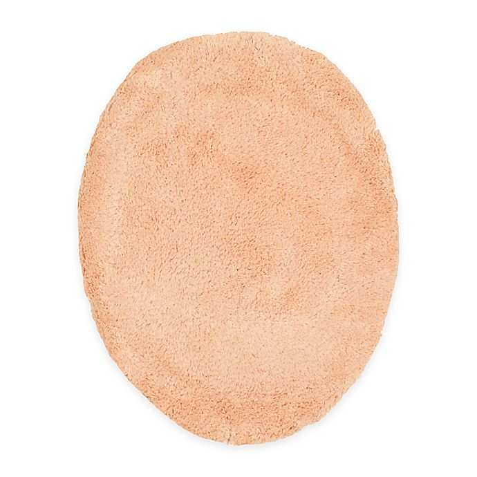 Alternate image 1 for Wamsutta® Ultra-Soft Elongated Toilet Lid Cover in Peach