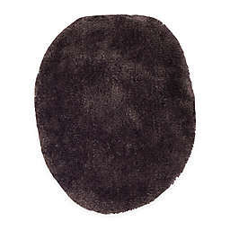 Wamsutta® Ultra-Soft Elongated Toilet Lid Cover in Black Plum