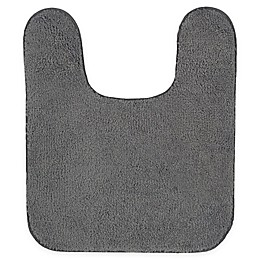 Mohawk Home Legacy 24-Inch x 20-Inch Contour Bath Rug in Charcoal