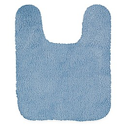 Mohawk Home Legacy 24-Inch x 20-Inch Contour Bath Rug in Light Blue