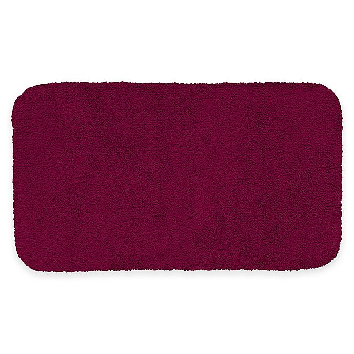 Alternate image 1 for Mohawk Home Legacy 40-Inch x 24-Inch Bath Rug in Cranberry