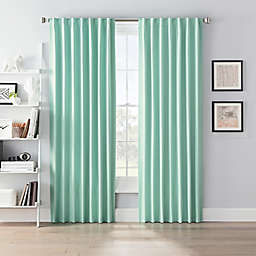 SmartBlock™ Chroma Rod Pocket 100% Blackout Window Curtain Panel