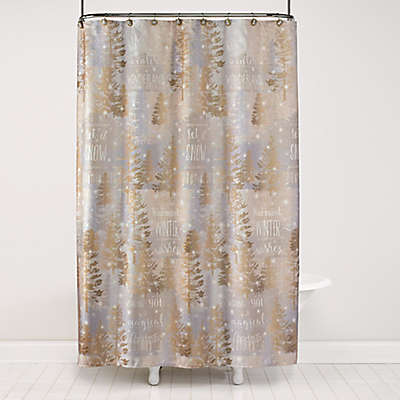 Shower Curtains At Bed Bath And Beyond christmas shower curtains | bed bath & beyond