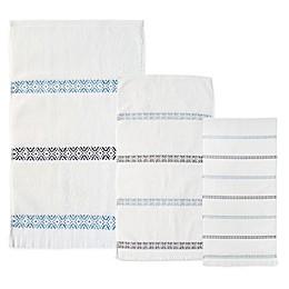 Bedeck Kuro Bath Towel in Indigo
