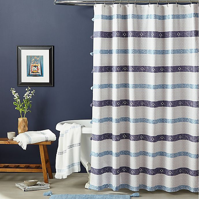 Alternate image 1 for Bedeck Kuro Shower Curtain Collection