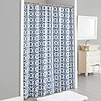 Lummi Shower Curtain in Navy