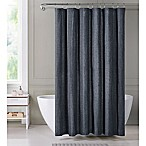 Harper Shower Curtain in Indigo