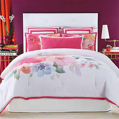 Christian Siriano Bold Floral Comforter Set
