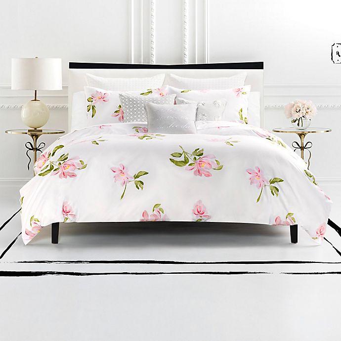 Kate Spade New York Breezy Magnolia Reversible Comforter Set Bed