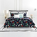 kate spade new york Hummingbird Reversible King Comforter Set in Navy