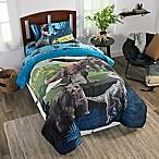 Jurassic World 2™ Twin/Full Reversible Comforter in Blue