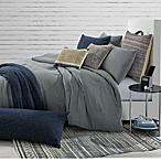 Jersey Knit Full/Queen Comforter Set in Grey