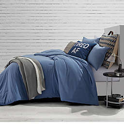 Style Co-Op Jersey Blue Jean Comforter Set