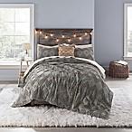 Anthology™ Chevron Tufted Full Comforter Set in Grey