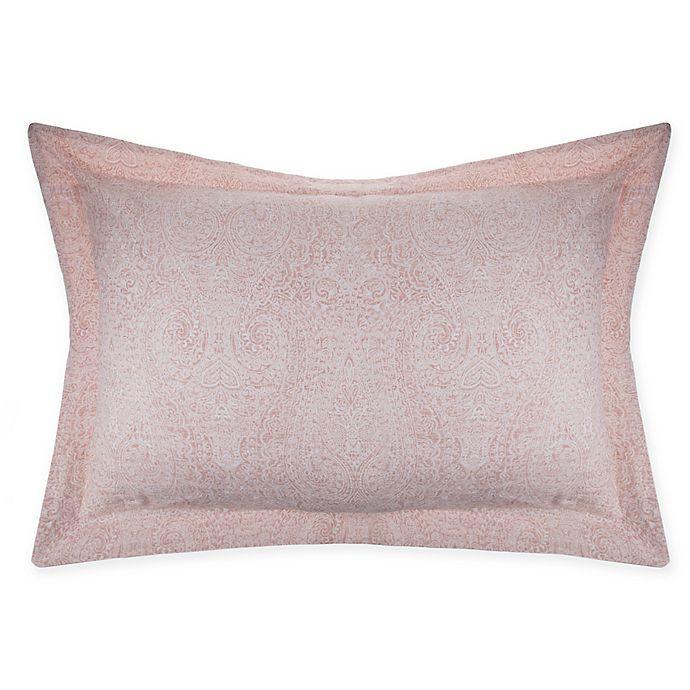 Alternate image 1 for Wamsutta® Vintage Paisley Standard Pillow Sham in Blush