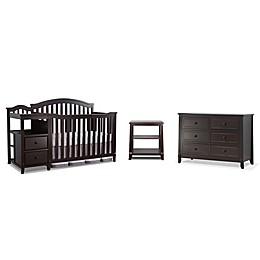 Sorelle Berkley Crib/Changer Furniture Collection in Espresso