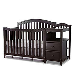 Sorelle Berkley 4-in-1 Convertible Crib and Changer in Espresso