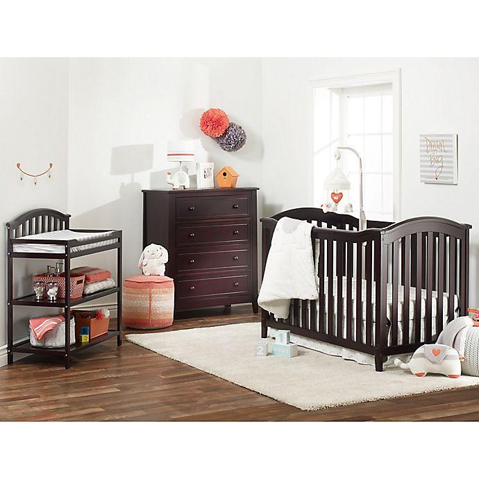 Sorelle Berkley Clic Nursery Furniture Collection In Espresso
