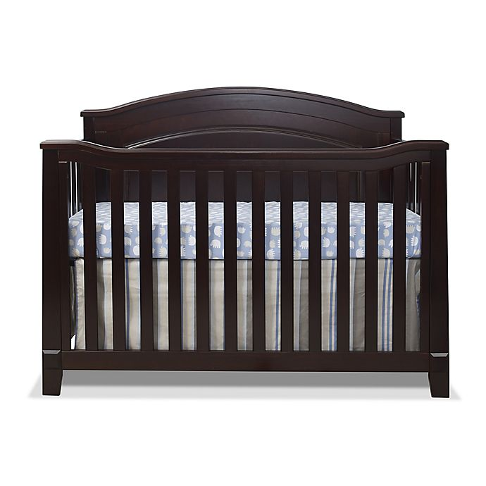 Alternate image 1 for Sorelle Berkley 4-in-1 Convertible Panel Crib in Espresso