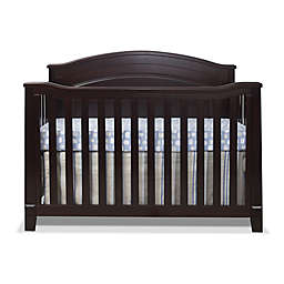 Sorelle Berkley 4-in-1 Convertible Panel Crib in Espresso
