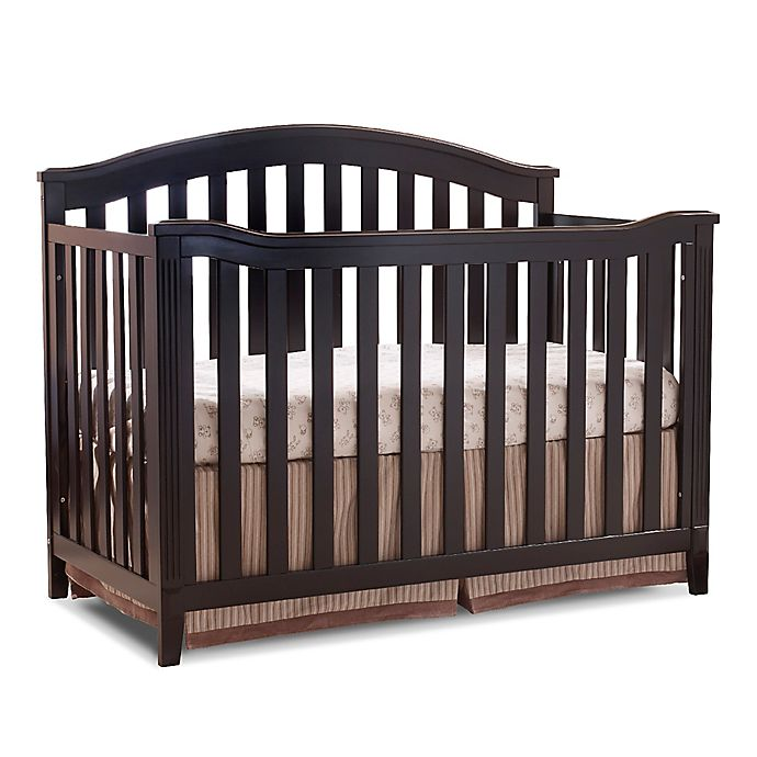 Alternate image 1 for Sorelle Berkley 4-in-1 Convertible Crib in Espresso