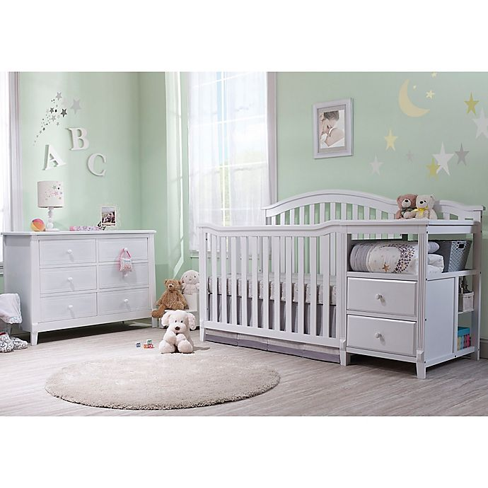 Alternate image 1 for Sorelle Berkley Crib/Changer Nursery Furniture Collection