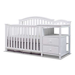 Sorelle Berkley 4-in-1 Convertible Crib and Changer in White