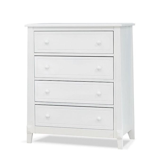 Alternate image 1 for Sorelle Furniture Berkley 4-Drawer Chest in White