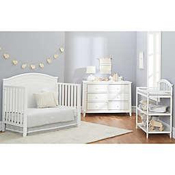 Sorelle Berkley Round Top Panel Nursery Furniture Collection in White
