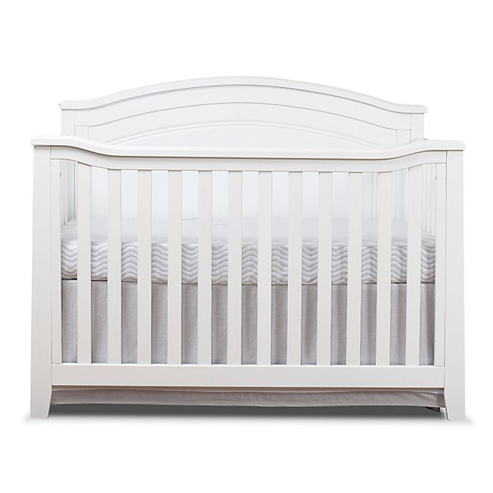 Sorelle Berkley 4 In 1 Convertible Panel Crib In White