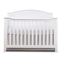 Sorelle Berkley 4-in-1 Convertible Panel Crib in White