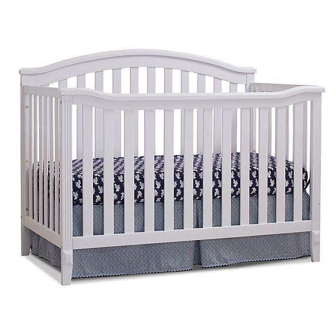 Alternate image 1 for Sorelle Berkley 4-in-1 Convertible Crib in White