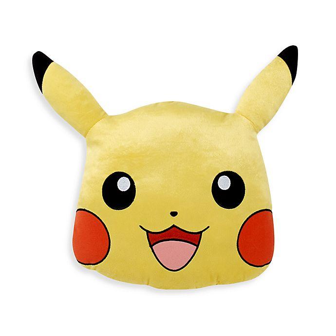 Alternate image 1 for Pokemon Go Pikachu Throw Pillow