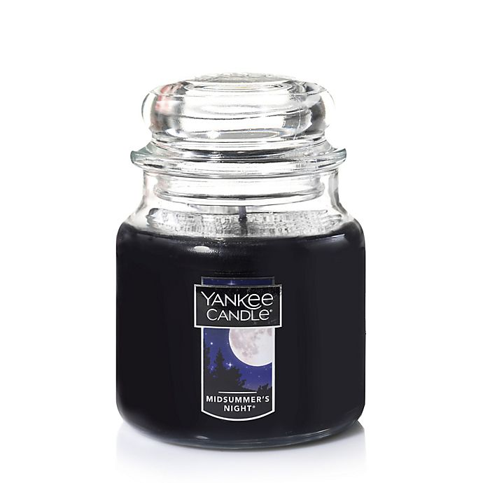 Alternate image 1 for Yankee Candle® Housewarmer® Midsummer's Night® Medium Classic Jar Candle