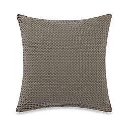 Bellora® Luxury Italian-Made Desert Square Throw Pillow in Taupe