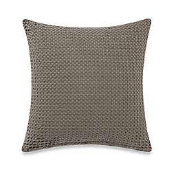 Bellora® Luxury Italian-Made Desert Square Throw Pillow in Taupe