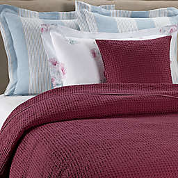 Bellora® Stone Venus King Coverlet in Berry