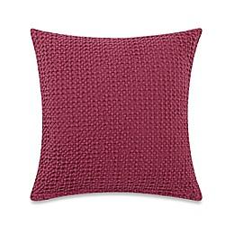 Bellora® Luxury Venus Square Throw Pillow in Berry