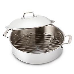All-Clad Stainless Steel 6 qt. Covered French Braiser