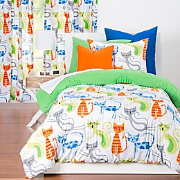 Learning Linens Smarty Cat Reversible Comforter Set