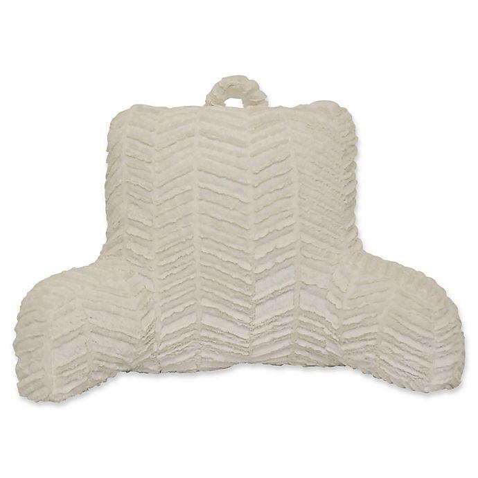 Alternate image 1 for Herringbone Backrest in White