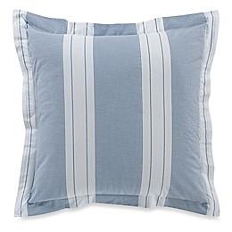Bellora® Luxury Italian-Made Butterfly European Pillow Sham in Blue