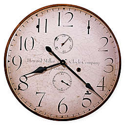 Howard Miller® Moment in Time 25-Inch Wall Clock in Wood