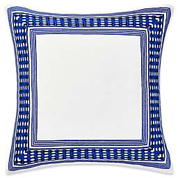 Trina Turk Samba De Roda European Pillow Sham in Bright Blue