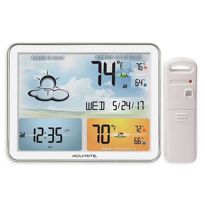 Alternate image 1 for Acurite® Digital Color Weather Station