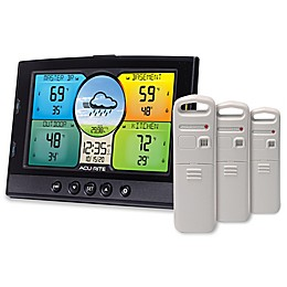 Acurite® Home View Environment Monitoring Center in Black