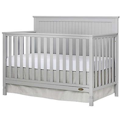 Dream On Me Alexa 4-in-1 Convertible Crib in Pebble Grey